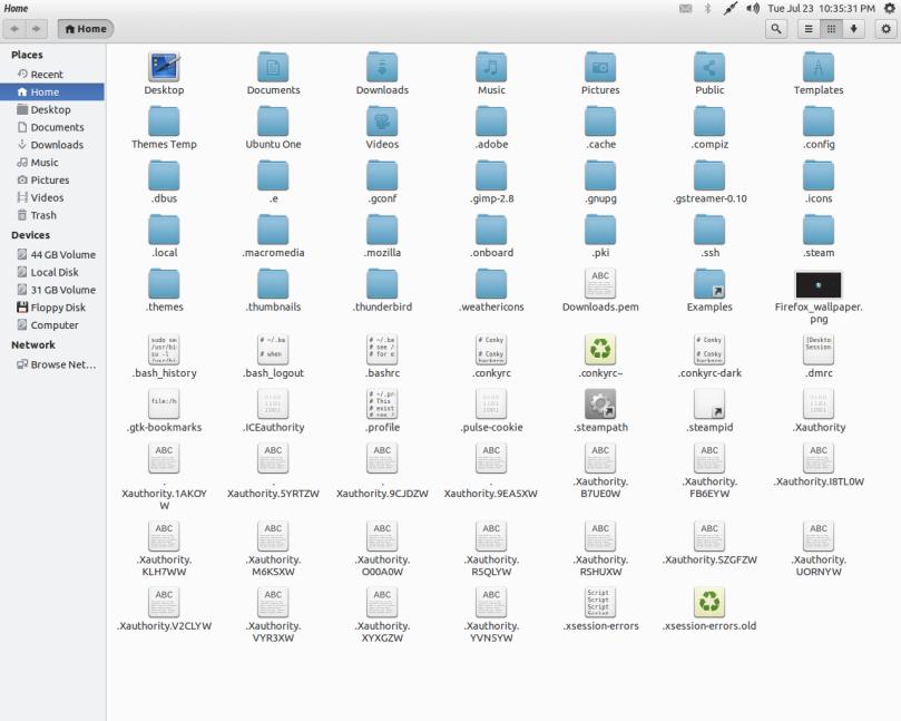 Ubuntu Files